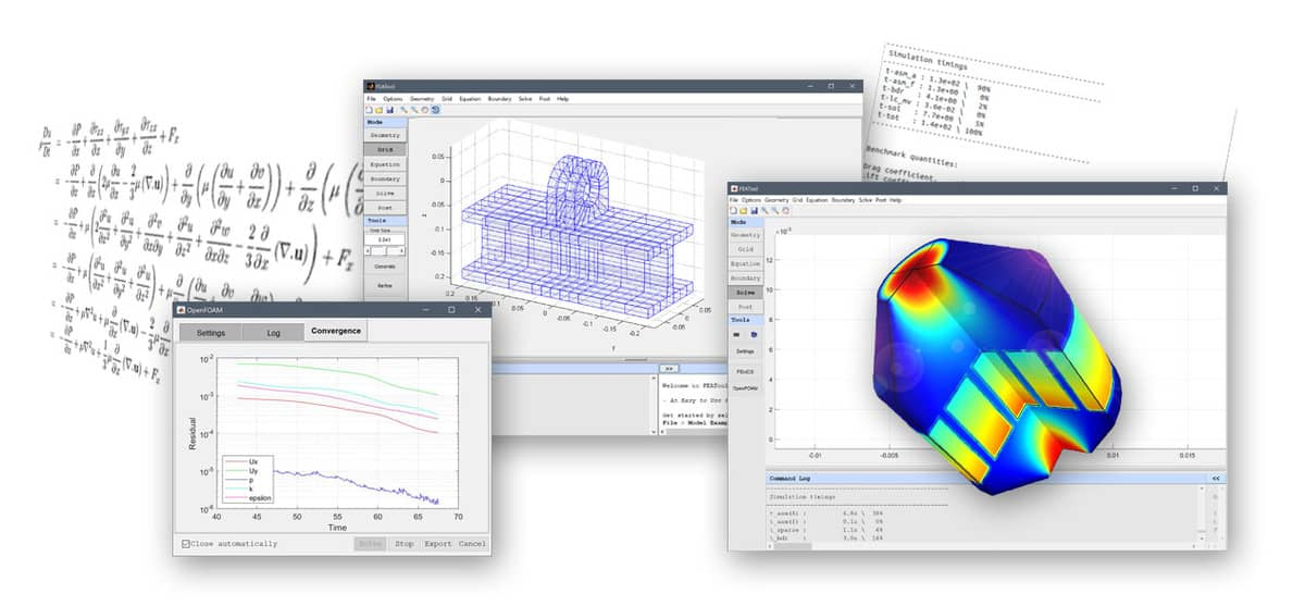 Banner - Introducing Multi-Simulation with FEATool 1.7 - More Than Multiphysics