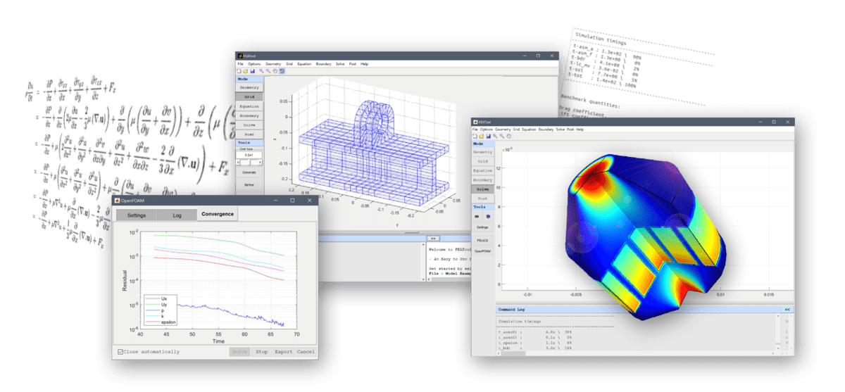 Parametric Finite Element Studies with Matlab M-Script Model Files
