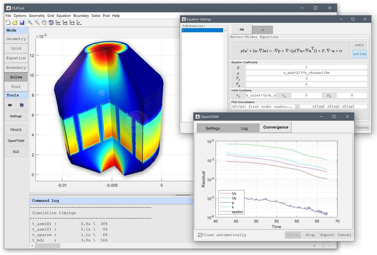 MATLAB Finite Element FEM Simulation Toolbox | FEATool