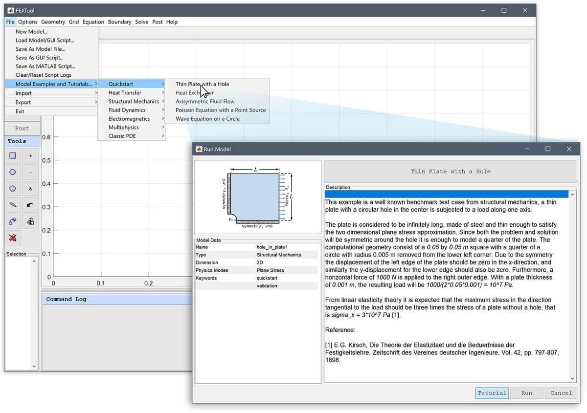 FEATool Multiphysics 1 10 - MATLAB Physics Simulation Toolbox