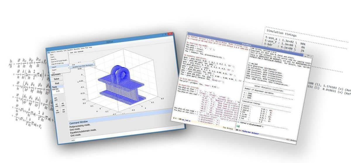 Working with the Matlab FEM Finite Element Simulation Toolbox FEATool