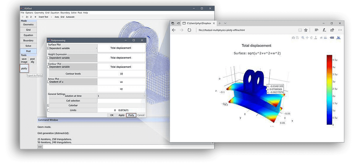 MATLAB Finite Element FEM Simulation Toolbox | FEATool Multiphysics