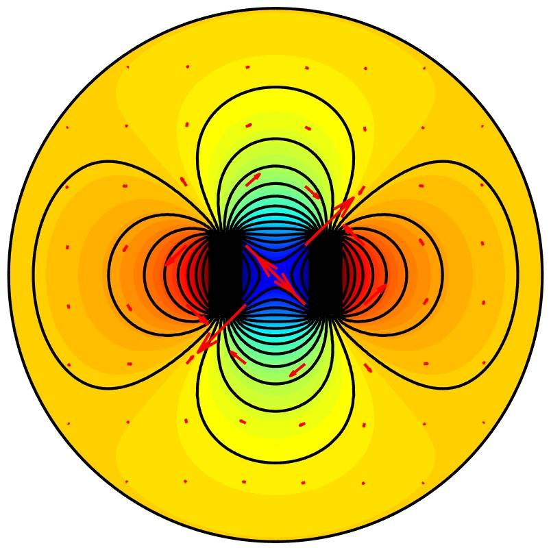 Magnetic Field Around a Permanent Magnet
