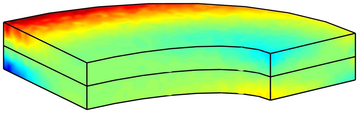 Stress Analysis of a Thick Plate